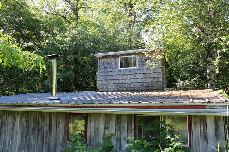Looking at the back of Birch House. Photo: Jamie L. Manser JamieManser.com