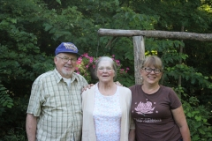 John Rylander, Edith Rylander, Lee Gutowski. Photo: Jamie L. Manser