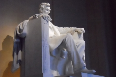 Lincoln Memorial sculpture. Photo: Jamie L. Manser