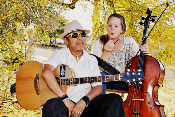 Aztral Folk performs Ethno-Psychedelic Fusion at 2nd Saturdays on May 11, 6:30pm-7:45pm. Photo by Lily House-Peters