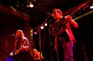 Duane Hollis, Glen Corey and Joe Peña in 2006 on the Rock the Seas cruise. photo: Jamie Manser
