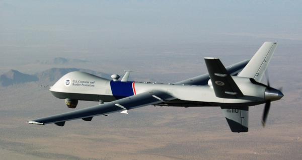 A U.S. Customs and Border Protection drone. photo: Gerald L. Nino/CBP Photographer