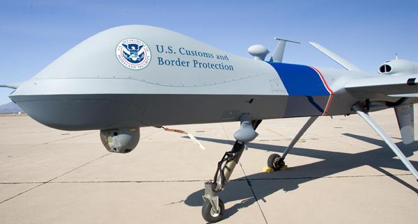 U.S. Customs and Border Protection's Unmanned Aircraft System MQ-9 Predator B. photo: Gerald L. Nino/CBP Photographer