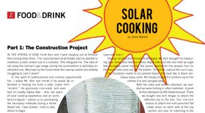 Solar Oven Construction with Scott Kerr